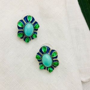 🌻SALE BOGO🌻🆕 NWOT Blue & Green Earrings